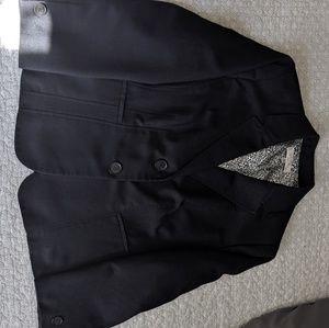 Navy Plus Size Blazer